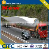 Special trailer type wind power equipment wind blade transport trailer for sale