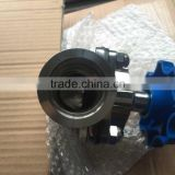 Sanitary diaphragm valve with KF ferrule /KF flange end