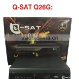 Stocks for Qsat Q26G,q-sat 26,qsat q26,Q-SAT Q26G mepg4 full hd gprs decoder with two accounts Africa