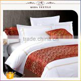 Wholesale cotton sateen white for 5 star hotel 100% cotton bedding comforter sets luxury