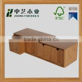 Wooden Tea Box wooden box unfinished wood gift box with lids for tea bag gift boxes with dividers