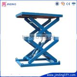 Hydraulic Stationary Scissor Car Lift Stationary Scissor Cargo Lift Table                                                                         Quality Choice
