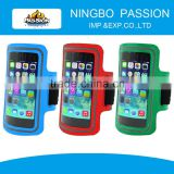 Light reflective waterproof adjustable armband case for iphone 6 plus/Touch Screen Window Cellphone Armband