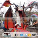 OA-IT-AD25 outdoor life size dragon statues