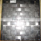 gray aluminium backsplash tiles lowes mosaic                                                                         Quality Choice