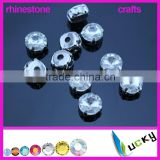 Wholesale Bling rhinestone crafts crystal with settings for jewelry wedding dress decorations