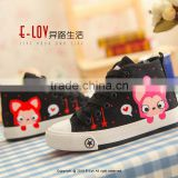 NO.XZ0015 Hot sales high quality brand name canvas shoes