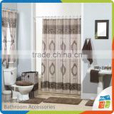 High Quality Shower Curtain With Bath Rug Sets