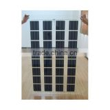 High efficiency price per watt frameless solar panel with TUV CE IEC UL certificate FR-227