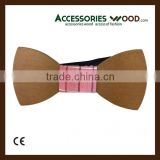 Wholesale Fashionable Wooden Bow Ties For Men and Women and Children