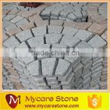 Garden paving stone fan cobblestone pavement stone granite paving