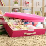 good quality multipurpose storage box custom bra storage box/travel underwear pouch/bra and underwear storage boxes