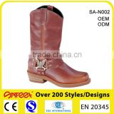 Chukka boot manufacturers and high neck safety shoes and Rubber non slip insole heel grips SA-N002