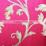 italian luxury pvc vinyl flower design wallpaper made in China