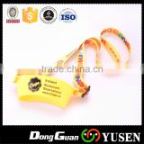 Polyester Double hook lanyard for more than two kinds of items with double clip