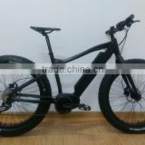 26inch *4.5 kenda fat tire mountain electric bicycle with 8fun bafang max mid motor 36V 350W ( HJ-M21 with bafang max 350W )