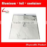 Kitchen Use Disposable Square Aluminium Foil Burner Liner/ Gas Stove Protector