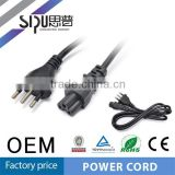 SIPU China manufacturer of ITALY flat iron power cord cable