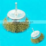 Mounted Brass Wire Cup Brush