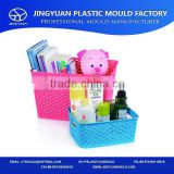 Household Plastic Sundries Storage Basket Box Mould/Rattan Sundries Crate Mold Manufacturing