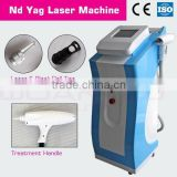 high powerful nd yag laser for tattoo removal good for green/blue inks removal
