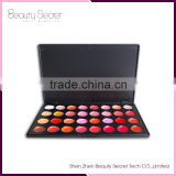 32 color tattoo lip gloss case,wholesale products empty cheap lipgloss lipstick and blusher palette can private your logo