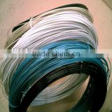 largest factory supply green PVC coated hot dipped galvanized steel wire/galvanized wire