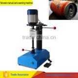 INquiry about Neweek commercial used food PET plastic bottle sealing beer can sealer manual cans seaming machine