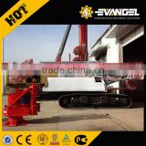 ISO9001 and CE Certification supercharged engine sany crawler rotary drilling rig sr180 Double chain pressure for selling