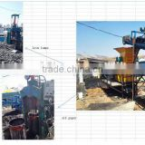 scrap fuel filter recycle processing machine for getting waste engine oil and steel lump