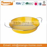 wholesale fancy stainless steel metal serving tray