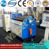 High quality hydraulic 4 roller heavy duty sheet metal plate rolling machine price of rolls