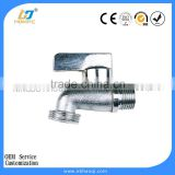 Multifunctional chrome plated bibcocks for washing machine
