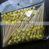 Bamboo sandwich ball sticks/skewers