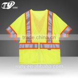 High visibility 3M reflective ansi clothing vest