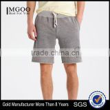MGOO Custom Made Mens Sweat Shorts Sport Wear Running Wear French Terry Short Pants With Raw Cut Hem