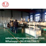 50-250mm HDPE PVC double wall corrugated DWC pipe extrusion machine