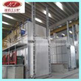 gold aluminium 6063 billet continuous casting homogenizing furnace machine