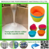 liquid silicon for bake ware cake pan making