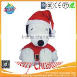 Christmas Snoopy plush toys