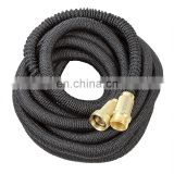 Nature Latex Expandable Garden Water Hose With Brass Metal Connectors