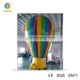 Colorful inflatable balloon, cheap inflatable advertising balloons, inflatable human hot air balloon