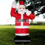 AOQI big discount best quality Stand Christmas santa inflatable model