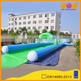 Commercial inflatable wet slide n slip , street slide