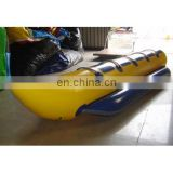inflatable banana shape boat for water sports toy (5-seat)