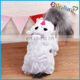 Cute Dogs Coat Pet Outfit Soft Warm Flannel Clothing