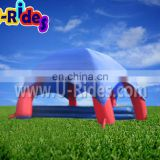 PVC Tarpaulin Inflatable Tent With Pool in outdoor