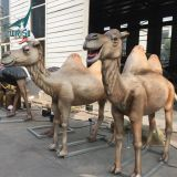 LORISO6022 Customized Life Size Animatronic Animal Camel For Sale