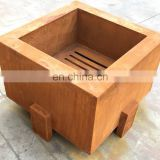 Latest Smokeless Corten Steel Outdoor Fire Pit from Alibaba