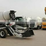 Top quality cheap automatic self-feeding concrete mini mixer truck from China manufacturer